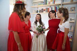 novias y amigas