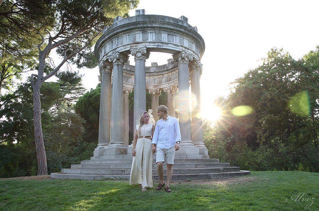 Pre boda en el parque del capricho