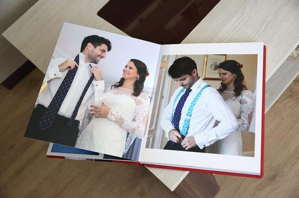 Álbumes para fotos de bodas