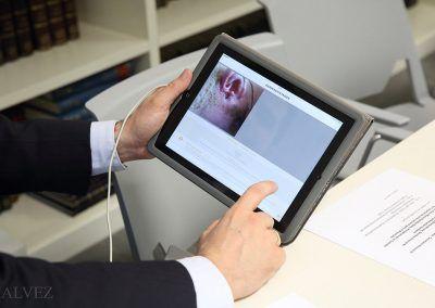 detalle de una tablet