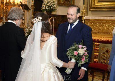 llegada novia al altar