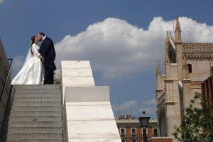 novios boda madrid
