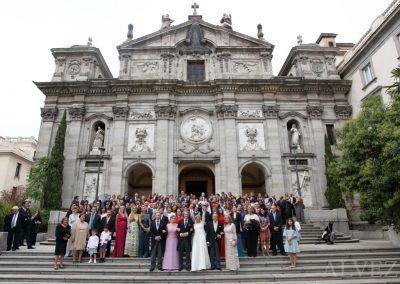 boda entera en la iglesia fotógrafo alvez