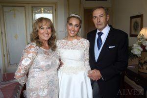 novia y sus padres