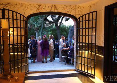 detalle finca de boda en Madrid