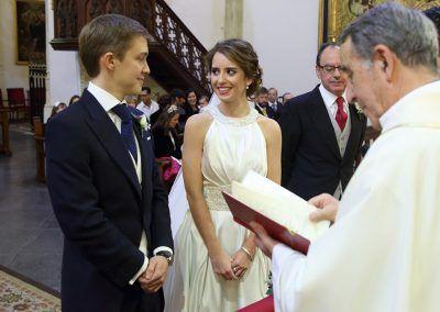 miradas novios boda madrid
