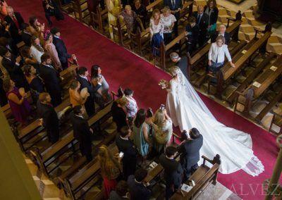 la novia por el pasillo