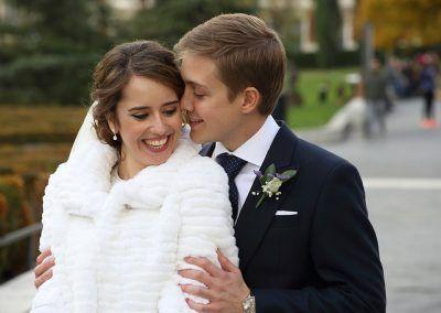 novios boda en Madrid