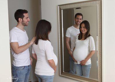 premamá pareja padres