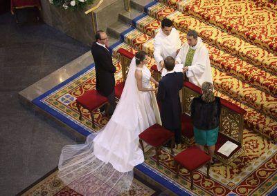 vista desde arriba fotógrafo bodas