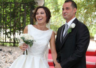 novios tras la boda
