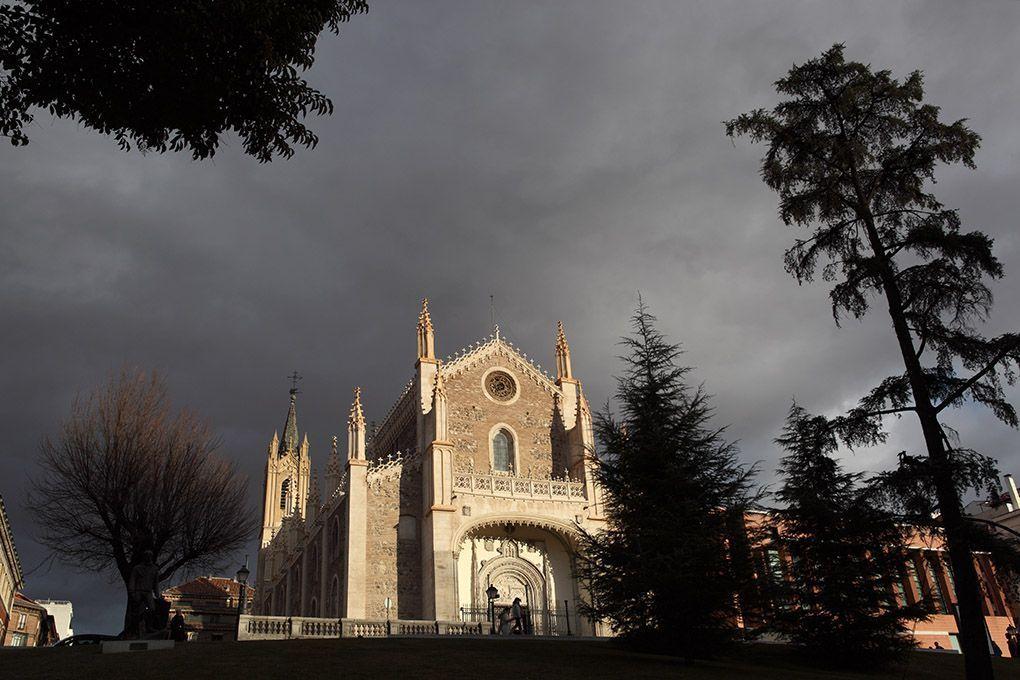 exterior de la iglesia de los jerónimos