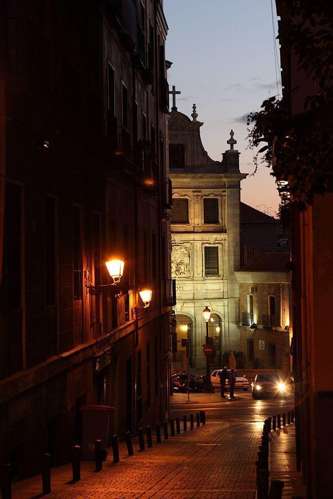 fachada foto nocturna