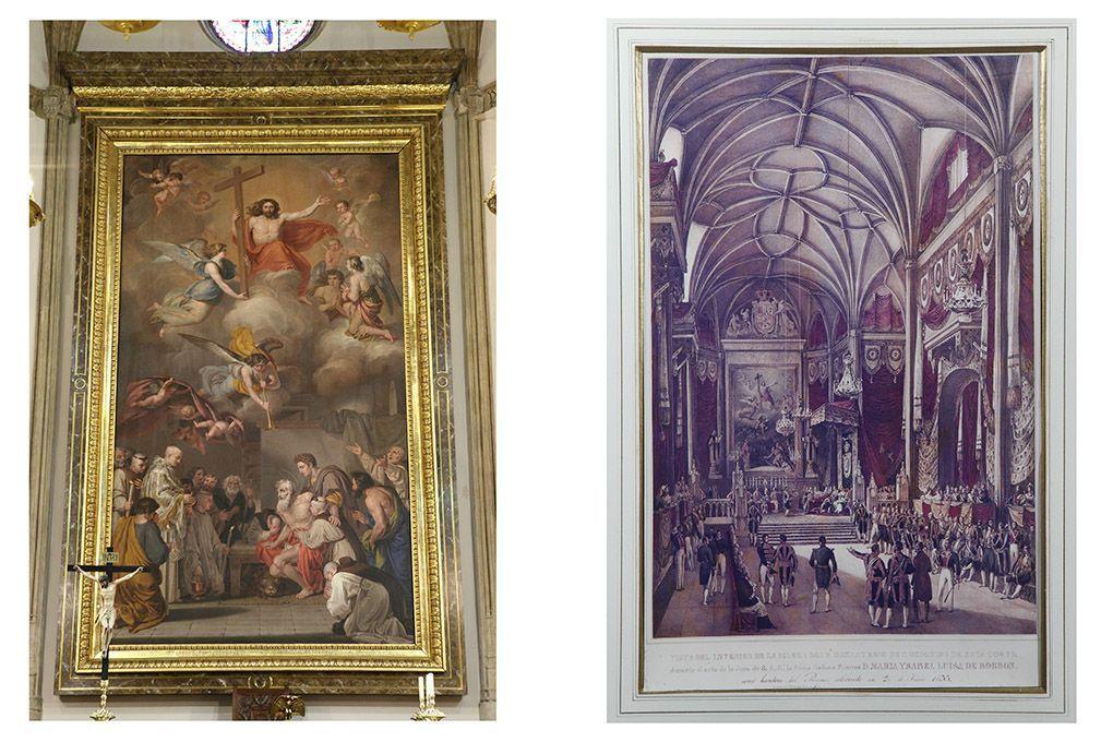 detalles de la iglesia de los jerónimos de M