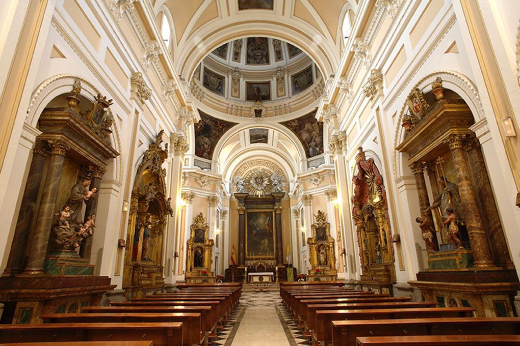 vista general iglesia