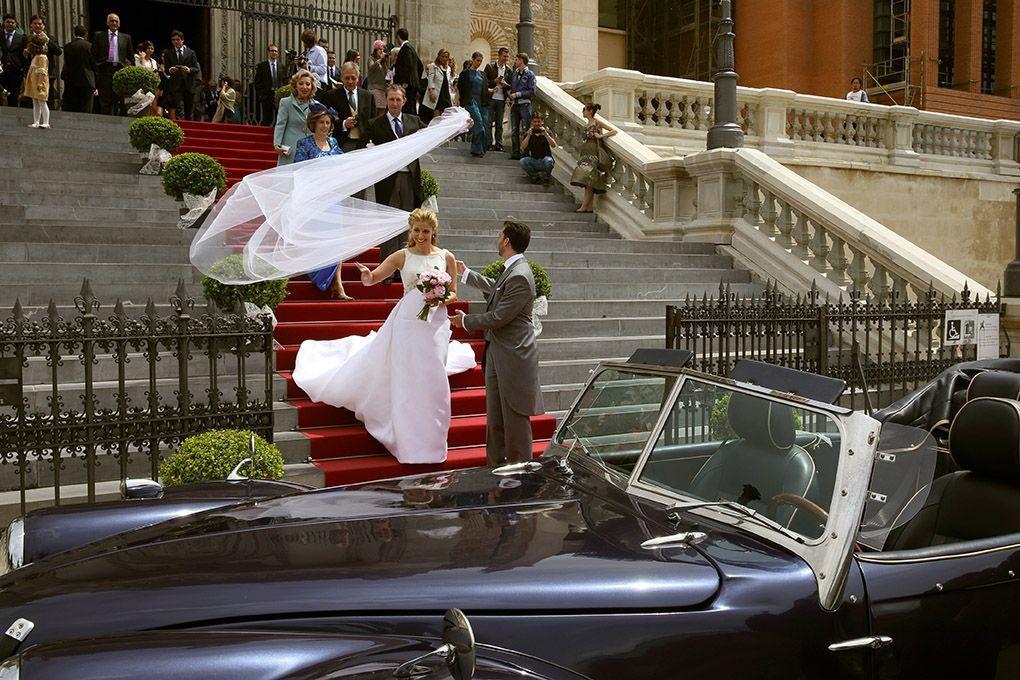 velo de la novia en boda