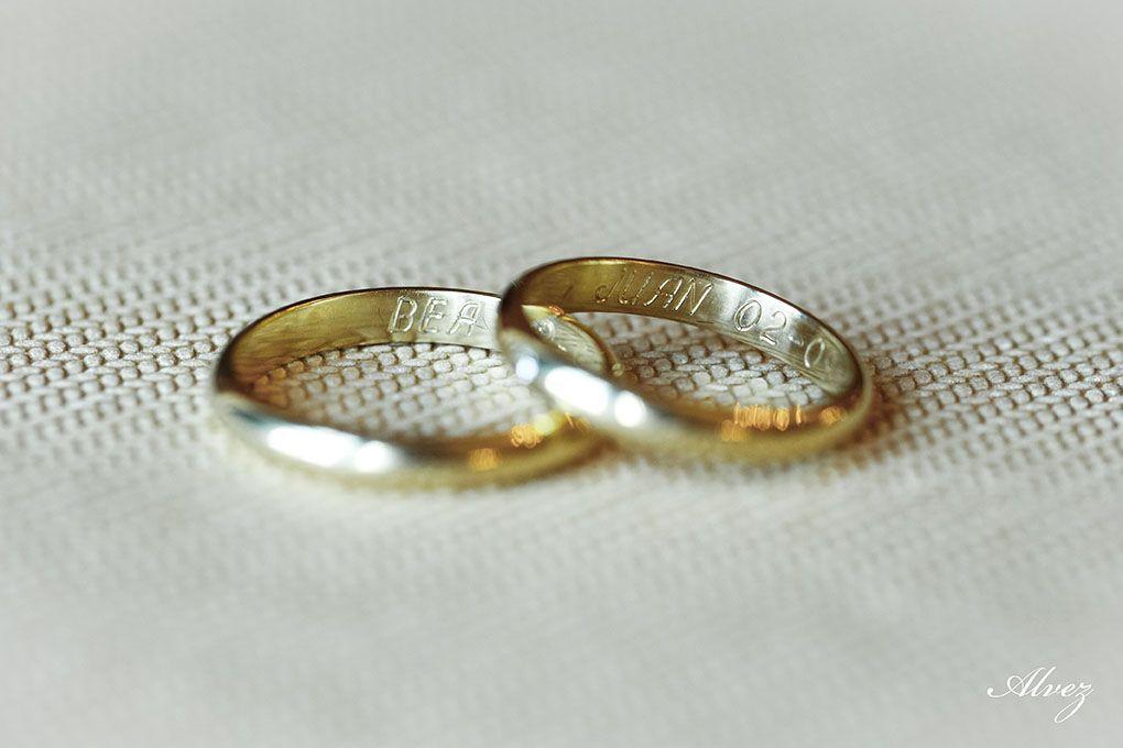 anillos boda