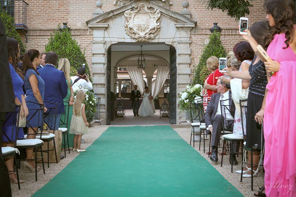 pasillo novia