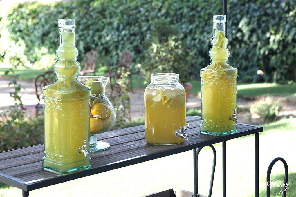 limonada en la boda
