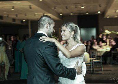 foto de baile novios boda