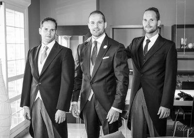 fotografía hermanos boda