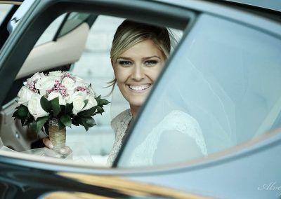 novia en coche madrid