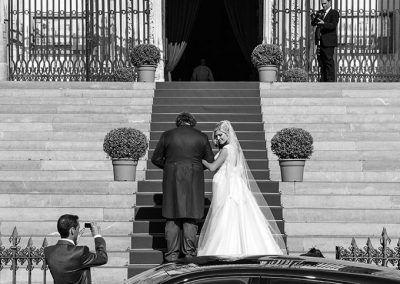 novia entra boda madrid