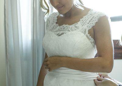 la novia se viste