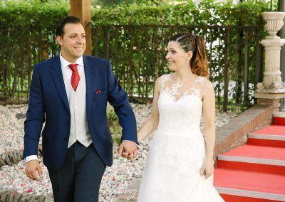 fotógrafos de bodas en el mirador de cuatro vientos