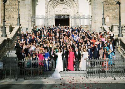 Toda la boda.