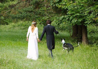fotos bodas con mascota