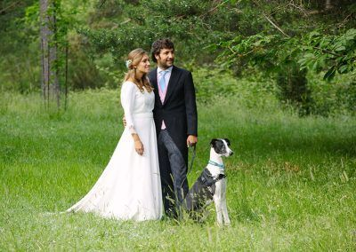 fotos bodas con perro