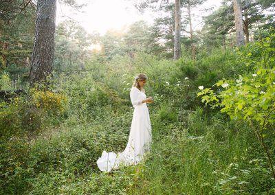 Clara en el campo.