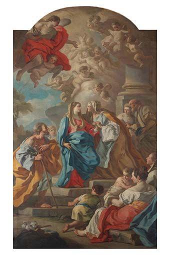 Cuadro retablo Santa Bárbara