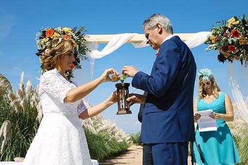 Rito boda civil